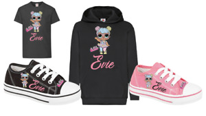 GIRLS TSHIRT/LEGGINGS/HOODIE/MUG 1-12 GIFT BIRTHDAY LOL