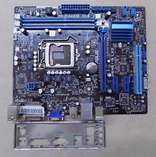Mainboard ASUS P8H61-M LX2 Sockel 1155 mATX DDR3 SATA USB mit Blende #A12