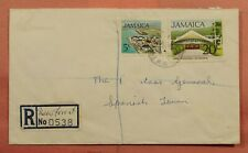 DR WHO 1975 JAMAICA NEW FOREST REGISTERED 163739