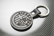 ALFA ROMEO Leather Keyring Keychain Schlüsselring Porte-clés Brera Mito Giulia