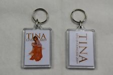 TINA TURNER LIVE IN CONCERT 2009 PLASTIC KEYCHAIN KEYRING NEW OFFICIAL