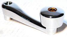window crank amber slot adaptor chrome for Freightliner Peterbilt Kenworth IHC
