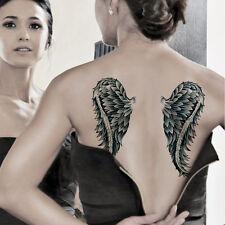 Fantasy Wings Temporary Tattoos for Women Body Art Sticker Fake Tatoo Waterproof