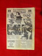 Guns n' Roses / Giornale concerto Modena 1993 + biglietto - Raro -Da Collezione-