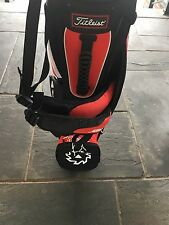 NEW RARE TITLEIST VOKEY SM6 LIMITED EDITION ULTRA LIGHT RED/BLACK STAND BAG