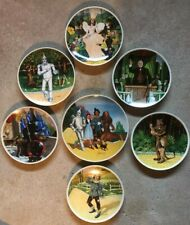 Knowles Collector Plates Wizard Of Oz Set of 7 Plates