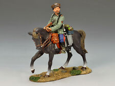 WS146 Mounted Cossack Holding Rifle (Looking Left) RETIRED by King & Country