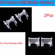 1Pair H7 HID Xenon Bulb Base Holder Adapter Adaptor For Ford Mondeo Mk4 New