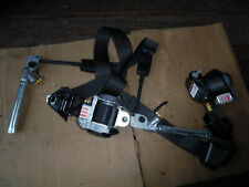 10 - 17 GMC TERRAIN EQUINOX DRIVER PASSENGER SEAT BELTS DARK GREY