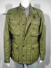 New RALPH LAUREN D&S Military Motorcycle Quilted Liner Jacket Green size XL