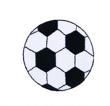 Craft Factory Iron or Sew On Fabric Motif Applique Football - each (CFM2007)