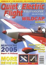 QUIET & ELECTRIC FLIGHT INTERNATIONAL MAGAZINE 2005 APR WILDCAP, SPACE SCOOTER