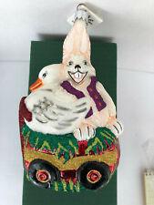 Slavic Treasures * Spring Easter Parade * Ornament * mouthblown * Nib