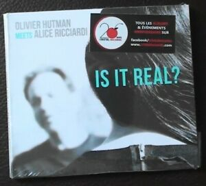 Olivier Hutman - Is It Real ? - CD - neuf - 2021 - jazz - France