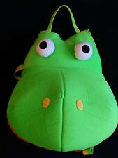 IDEA NUOVA Plush Blanket Bag Zipper Large Pillow Green Hippo Dino Backpack