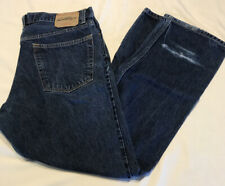 MENS 40 LEVI'S SIGNATURE Regular Fit Dark Denim BLUE JEANS 40 X 30