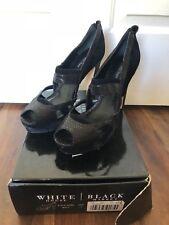 White House Black Market WHBM 10 Heel Black