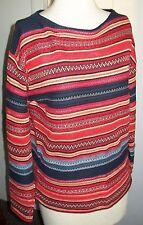 LAUREN JEANS CO RALPH LAUREN Indian Southwestern Design Sweater Sz Medium