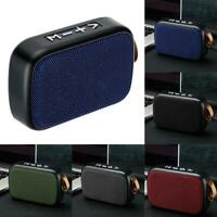 Bluetooth Speaker Wireless Portable TF Card Mini Bass Outdoor New Small G8V8