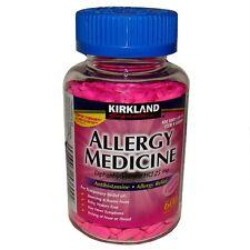 Kirkland Allergy Medicine Diphenhydramine HCI 25mg 600 Mini Tabs Antihistamine