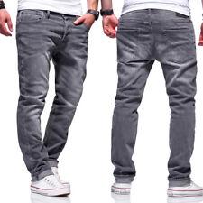 Jack & Jones Jeans TIM Röhrenjeans Chinohose Slim Fit Hose Blau/Grau NEU