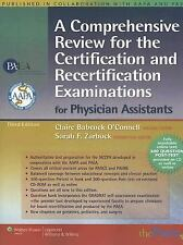 A Comprehensive Review for the Certification and Recertification Examinations fo