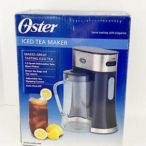 OSTER ICED TEA MAKER #BVST-TM25, 2.5 QUART CHILL ICED TEA NEW IN BOX