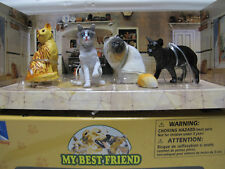 "NewRay  Set 17  ca. 1:12  Set    "" MY BEST-FRIEND ""  mit  4 Katzen  Art. 34033"