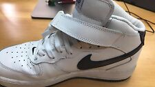 "Nike Air Force 1 Mid ""White/Royal"" 306352-141 Sz. 10.5"