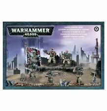 Warhammer 40k Imperial Guard Cadian Command Squad NIB