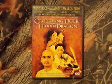 Used Dvd Crouching Tiger Hidden Dragon, Winner Of 4 Academy Awards