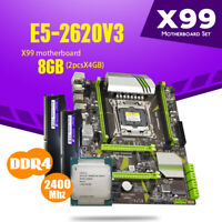 Gaming Combo Intel Xeon E5-2620 V3(6C/12T) + 8GB DDR4 2400MHZ + X99 Motherboard