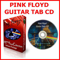 PINK FLOYD & GUITAR TAB CD + TABLATURE SONG BOOK BEST OF GREATEST HITS