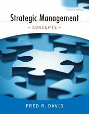 Strategic Management: Concepts (12th Edition) by Fred R. David