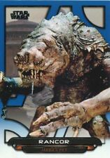 Star Wars JTTFA Green Parallel Base Card #66 The Rancor feasts