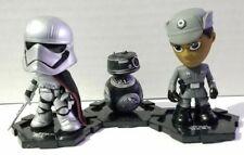Funko Mystery Minis Stars Wars Last Jedi Captain Phasma BB9E Finn First Order