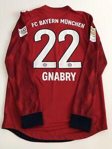 FC Bayern München matchworn Trikot Gnabry Gr. 6 Spielertrikot Player Issue
