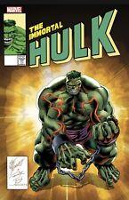 New listing Immortal Hulk 50 Nm Bennett Homage Variant 10/13 2021 Presale
