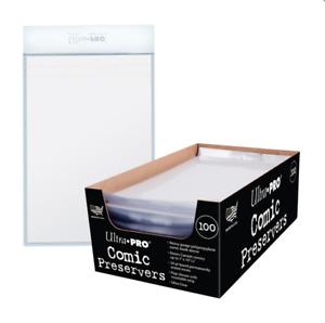 (3 Comte Lot ) Ultra Pro Bd Livre En Courant / Moderne Taille Sacs Plateaux