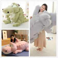110Cm Giant Large Crocodile Plush Doll Soft Stuffed Animal Dolls Toy Kids Gift