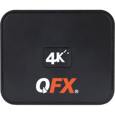 QFX ABX-12 Android TV Box & WiFi Wireless Router w/ 4K Resolution in Black