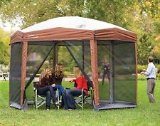 New and Sealed! Coleman Instant Screened Canopy 12 x 10 - FAST set up, 8 ft tall