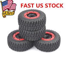 4Pcs Bead-Loc Tire Rims For HPI HSP 1:10 TRAXXAS Slash Short Course Car 30002 US