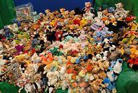 Mega Lot 605 Ty Retired Original Beanie Babies Assorted Animals Errors Rare