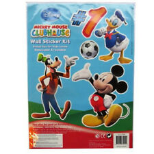 Large Disney Wall Stickers Childrens Bedroom Furniture Decorating Kits Boy Girl Mickey Mouse Club House