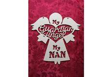 MDF Wooden Wooden guardian angel hanger Nan Craft wall door hanging art