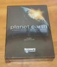Planet Earth (DVD) 5-Disc Set Collector's Edition Discovery Channel Printing NEW