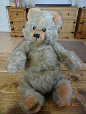 VINTAGE ,MERRYTHOUGHT BINGIE  BEAR ,MOHAIR STITCHED NOSE 1930s