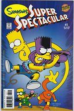 Simpsons Super Spectacular 2 NM+ 9.6 Bongo Comics