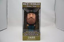 """DUCK DYNASTY JASE 8"""" WACKY WOBBLER  BOBBLE HEAD DUCK COMMANDER A&E NIB"""